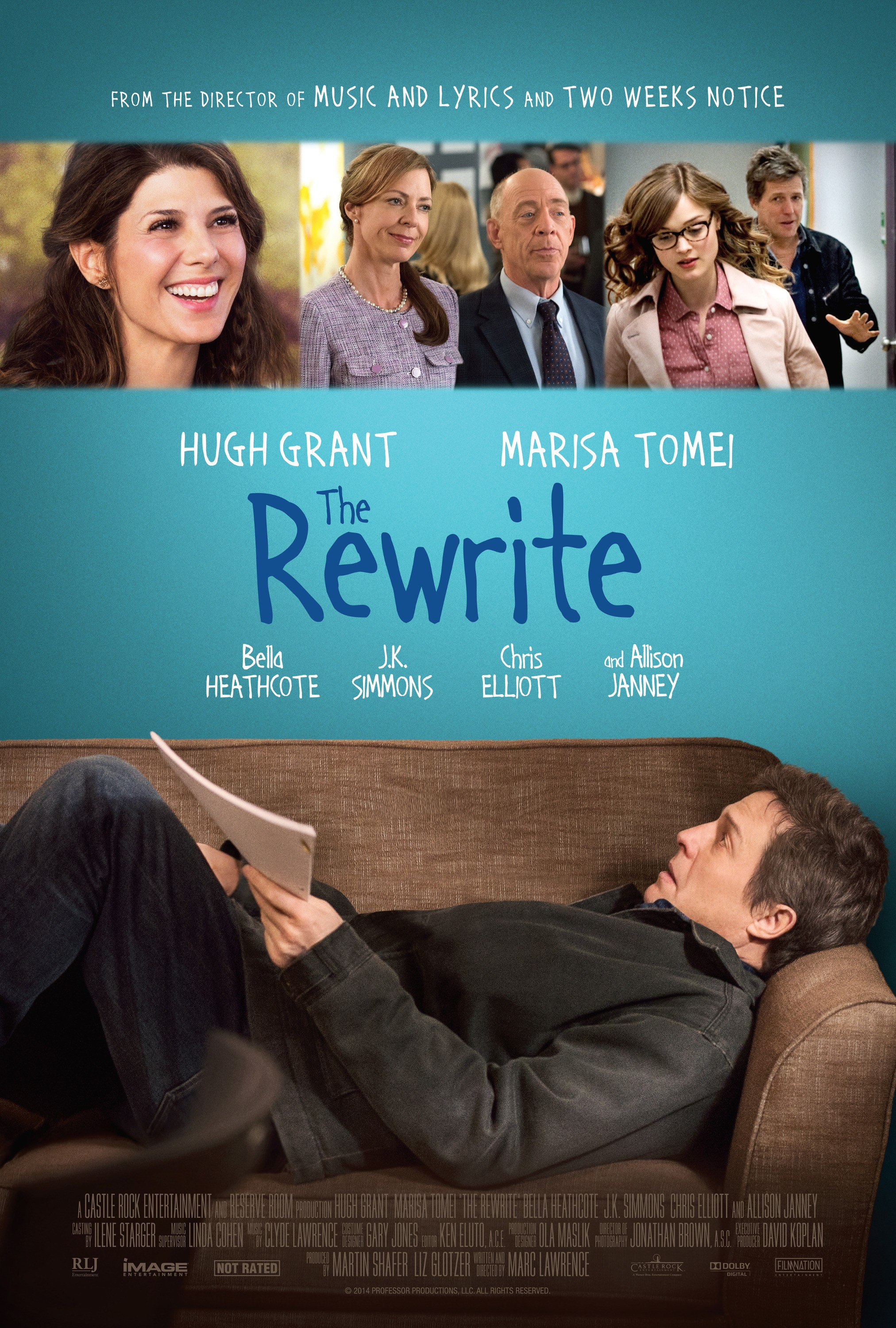 THE REWRITE – Poster...